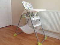 Immaculate joie mimsy highchair