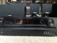 ONKYO TX-SR309 Home Cinema Amplifier + Yamaha 5.1 speakers