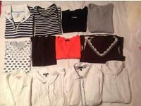 Bundle of ladies clothes size 14 (12 items)