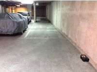 Long term secure underground parking Canary Wharf
