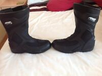 ARMR Sugo Tour Motorcycle Boots Size 7/41