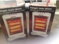 2 Portable Halogen Heater