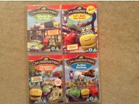 Chuggington DVDs. X4