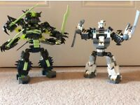 Lego ninjago titan mechs.