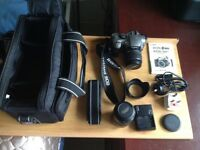 Canon EOS300DSLR Camera Outfit inc 55-200 Zoom Lens