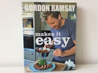 Cook book 'Gordon Ramsey Makes it Easy'– NEW