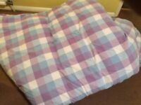 Laura Ashley Curtains and Duvet Set plus at extra cost matching rug