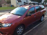 Dacia Logan Estate (Rusty Red) Full service history and new MOT. Great runner