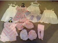 Girls3-6month summer clothing bundle