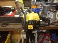 Petrol chainsaw ,spares or repair .