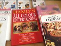 World Recipe books /pastry bits bobs