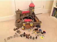 Playmobil Lion Knights Empire Castle 4865 with lots of extras