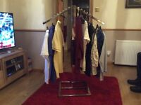 Clothes display stands (good quality)