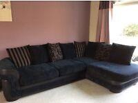 Corner sofa lovely condition