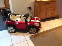 Ride on electric mini car