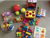 Baby/ toddler toys vtech, fisher price, Elc, Lego and more