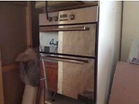 Double electric oven HOTPOINT