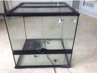 Vivarium used for baby tortoises