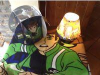 Little Tikes play house, climbing frame & slide, Ben 10 lamps &blanket
