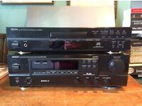 Denon Receiver and CD Player