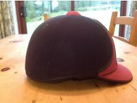 Harry Hall Blue and Purple Horse Riding Helmet size 59