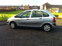 Citroen Xsara Picasso 2002 - MOT May 18 - low mileage for year - reliable runabout