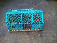 New Lobster crab pot garden ornament