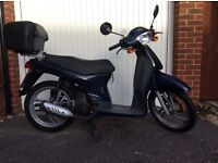 Honda SH50 City Express 2-Stroke Moped, Rare, Commuter, Learner Legal, Car drivers, Twist and Go