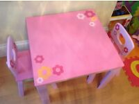 ELC Pink Table & Chair Set