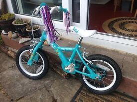 "Apollo petal girls bike 14"""