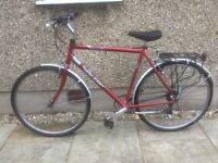 RALEIGH HYBRID BIKE FOR SALE-EXCELLENT CONDITION-FREE DELIVERY