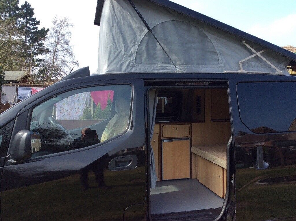 nissan nv200 camper 2012 new conversion in kirkcudbright. Black Bedroom Furniture Sets. Home Design Ideas
