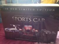 10 DVD Classic sports car collection