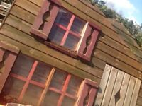 Two story Wendy house