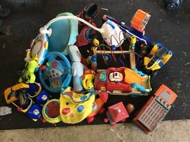 Job lot of baby and kids toys