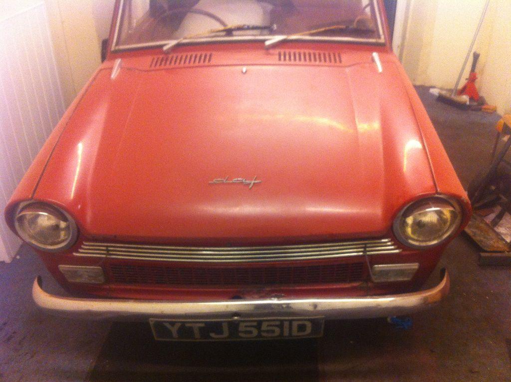 1966 Daf 32 saloon classic car tax exempt like 33 44 55 66 etc ...