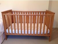 Cot / Cot Bed. Jamestown Range from Mothercare