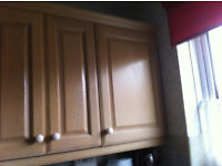 Kitchen units for sale following installation of new kitchen