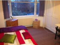 DOUBLE ROOM TO RENT FOR SINGLE PROFESSIONAL IN OSTERLEY