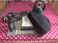 Accessories for an Aga Range cooker