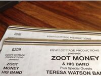 ZOOT MONEY tickets for 13 APRIL in NEWCASTLE