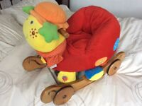 Mamas and Papas ride or rock Lottie Ladybird
