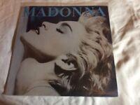 True blue Madonna vinyl album