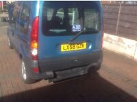Renault Kangoo Wheelchair Adapted vehicle low mileage very clean motor