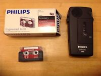 Dictation machine Philips LFH388, Pocket Memo and cassettes