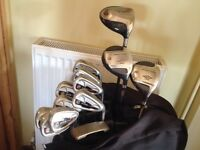GOLF CLUBS GRAHAM TONGE GT / PING / TAYLORMADE / COMPLETE SET.