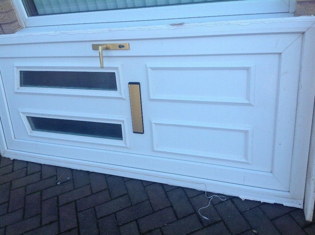 White Pvc Front Door In Aberdeen Gumtree