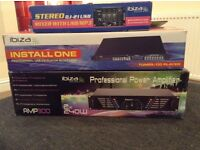 Music equipment amp,mixer,cd player