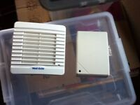 Vent Axia extractor fan and transformer