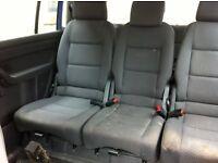 VW Caddy rear seat conversion from a 54 reg Touran